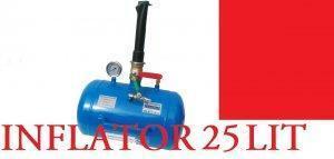INFLATOR do kół 25 L 10 Bar DOSTAWCZE TIR OSOBOWE
