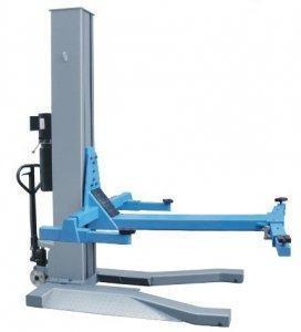 Podnośnik jednokolumnowy hydrauliczny 2,5T MOBILNY