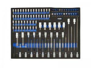Wkład - zestaw nasadek Torx i bitów 102el. CRV