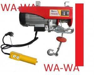 Wyciągarka Elektryczna BUDOWLANA LINOWA 400/800 kg