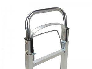Wózek transportowy alu 90kg 355x240mm(składany) 4